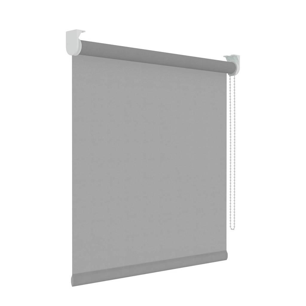 Decosol Licht doorlatend rolgordijn (120x190 cm), Lichtgrijs