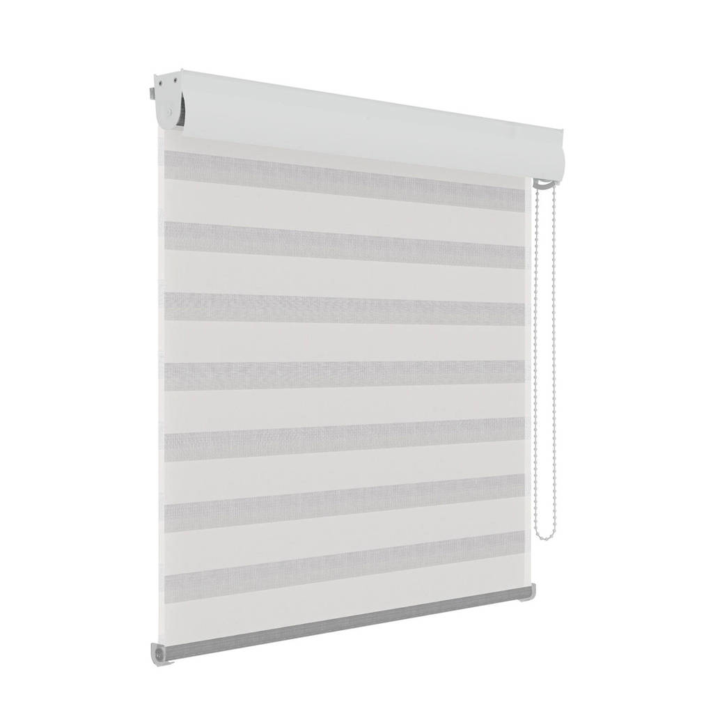 Decosol polyester roljaloezie (90x210 cm), Wit