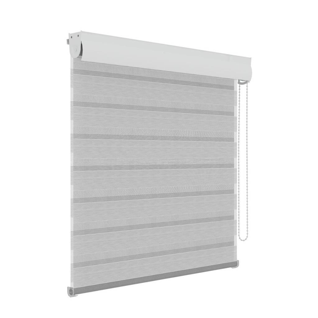 roljaloezie (60x210 cm), Wit/grijs