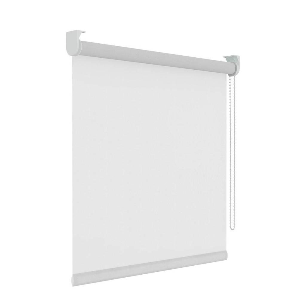 Decosol Licht doorlatend rolgordijn (210x190 cm), Wit