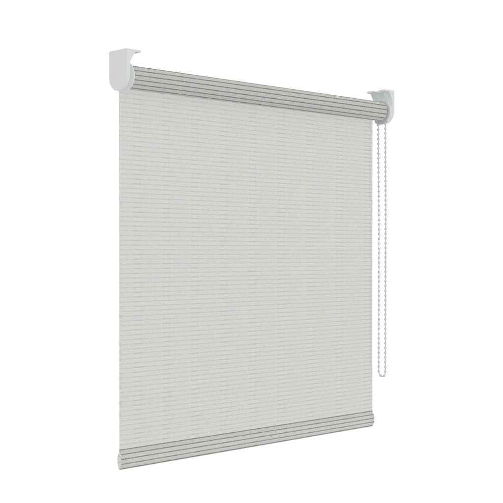 Decosol Licht doorlatend rolgordijn (180x190 cm), Wit