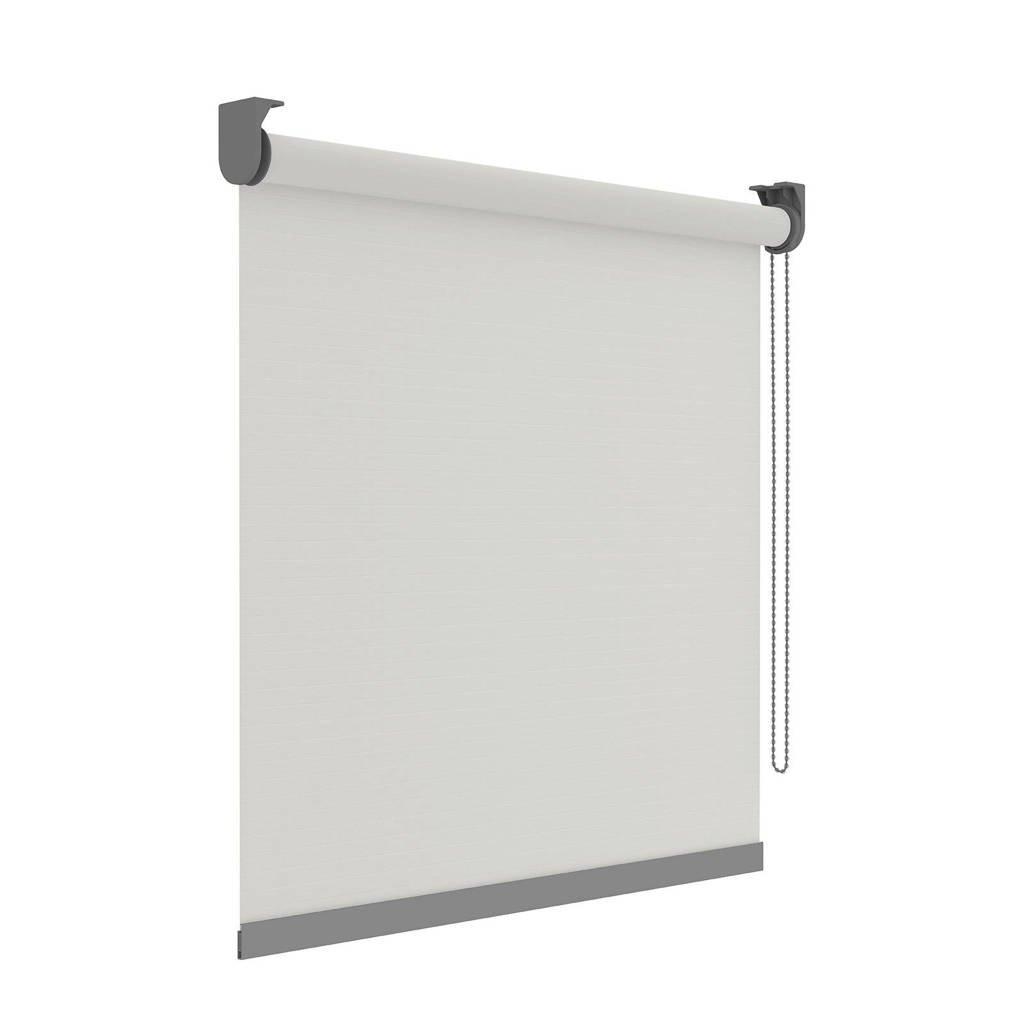 Decosol Deluxe Licht doorlatend rolgordijn (60x190 cm), Wit