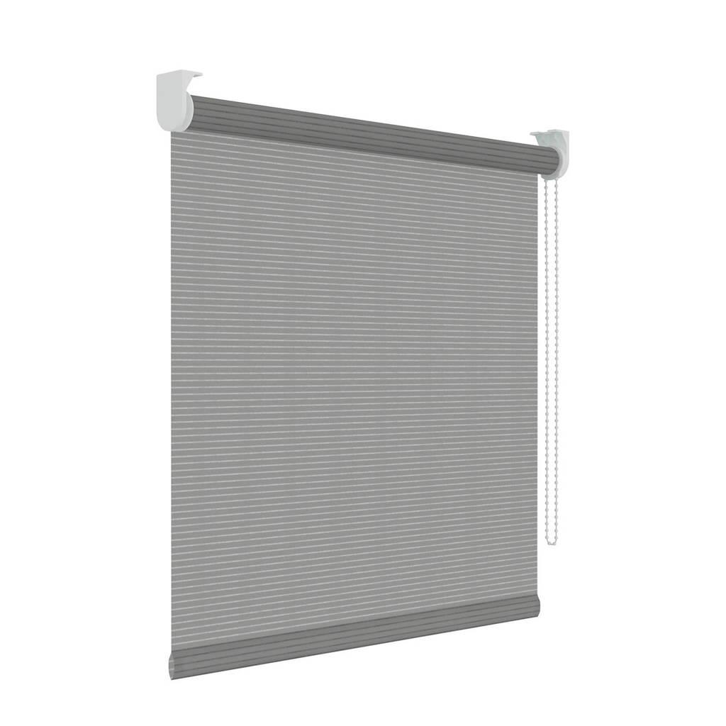 Decosol Licht doorlatend rolgordijn (120x190 cm), Grijs