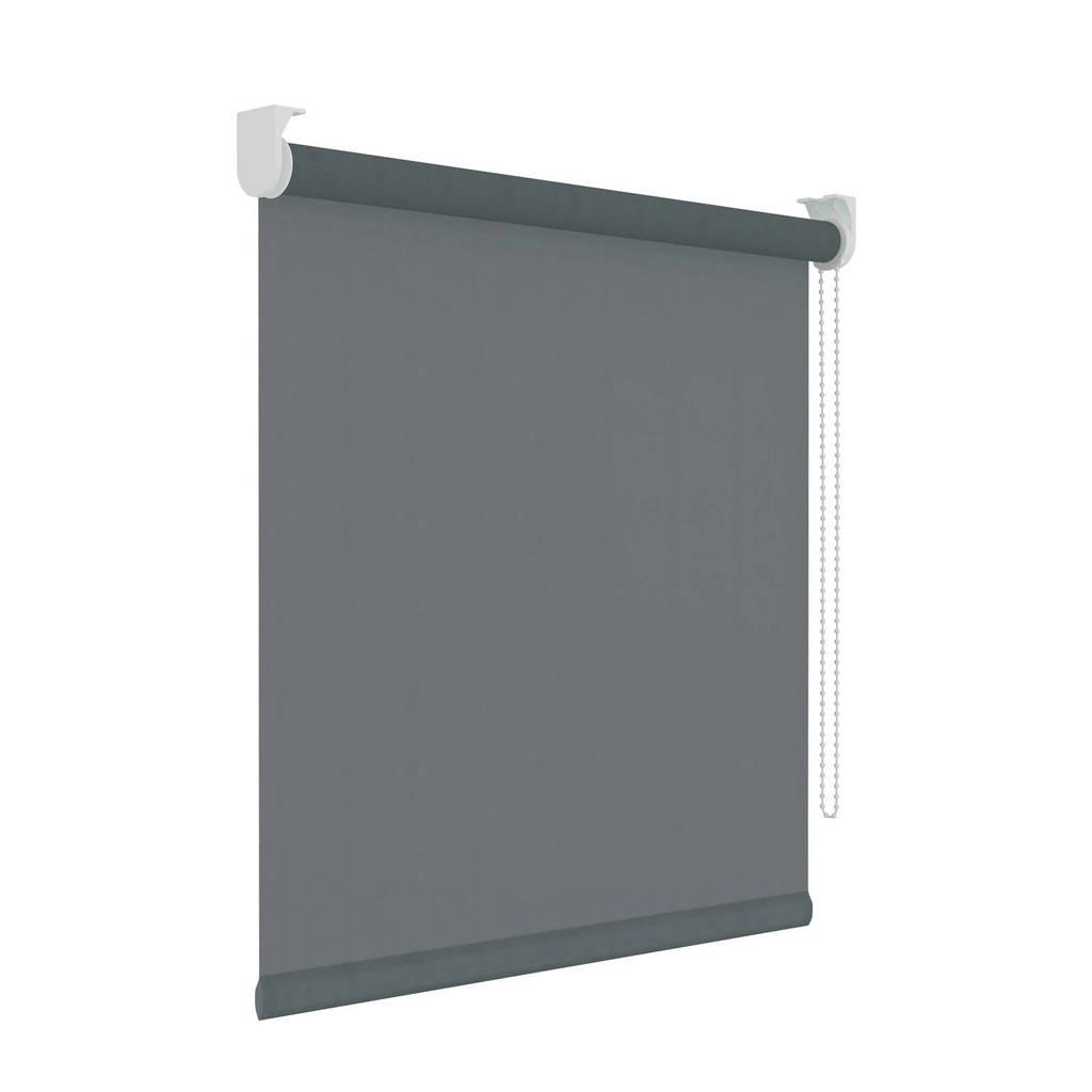 Decosol Licht doorlatend rolgordijn (210x190 cm), Antraciet