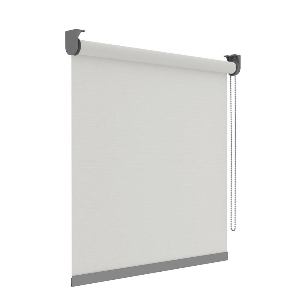 Decosol Deluxe Licht doorlatend rolgordijn (180x190 cm), Wit