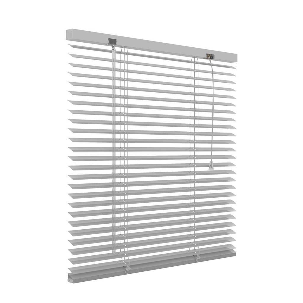 Decosol aluminium jaloezie (160x180 cm), Zilver