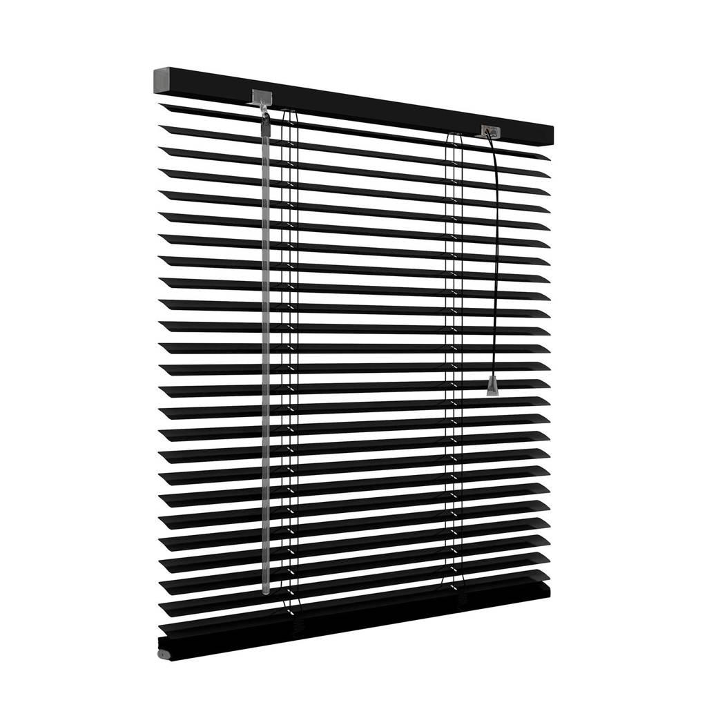 Decosol aluminium jaloezie (120x130 cm), Mat zwart