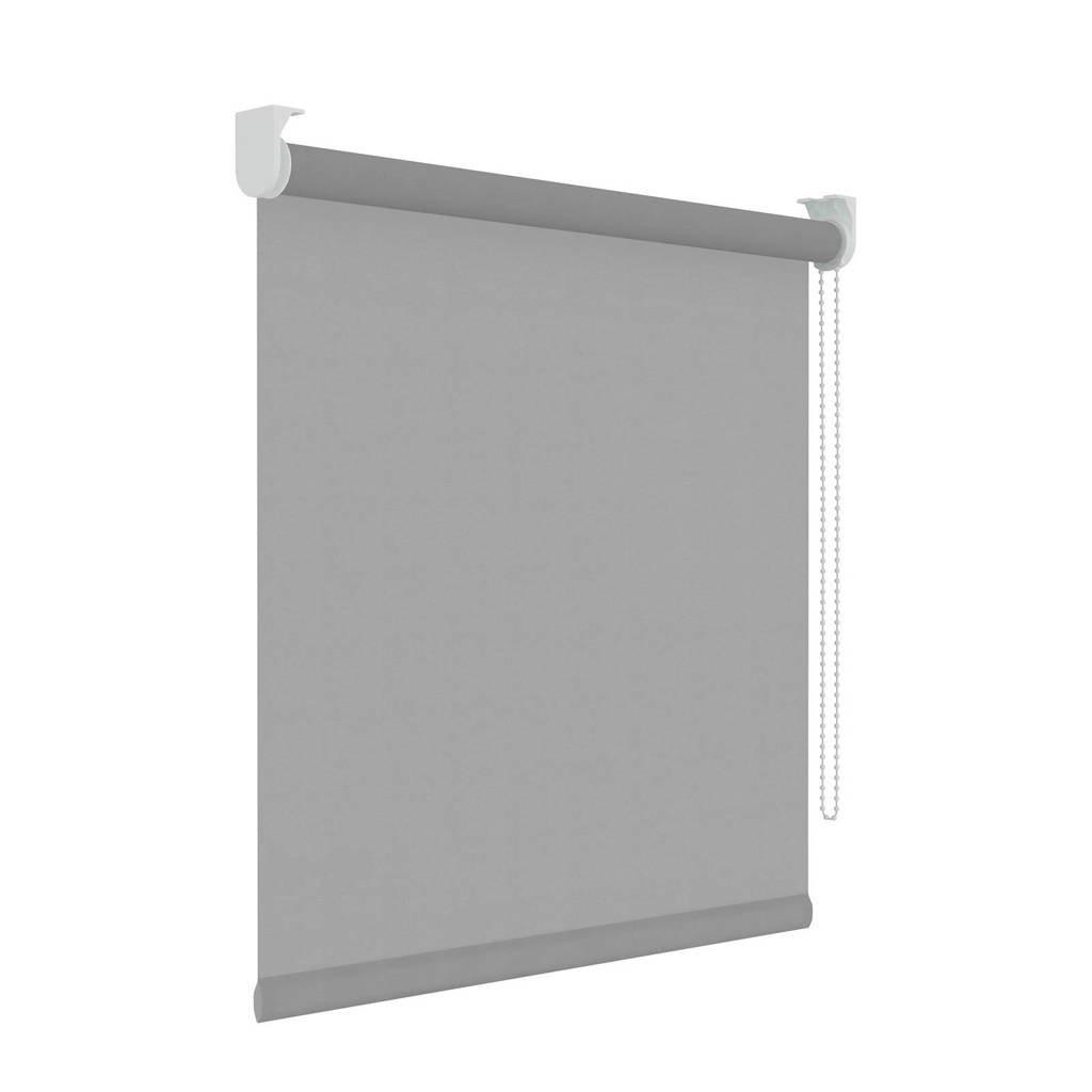 Decosol Licht doorlatend rolgordijn (60x190 cm), Lichtgrijs