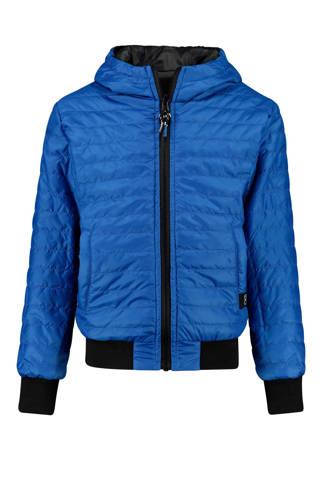 omkeerbare zomerjas Olliver blauw