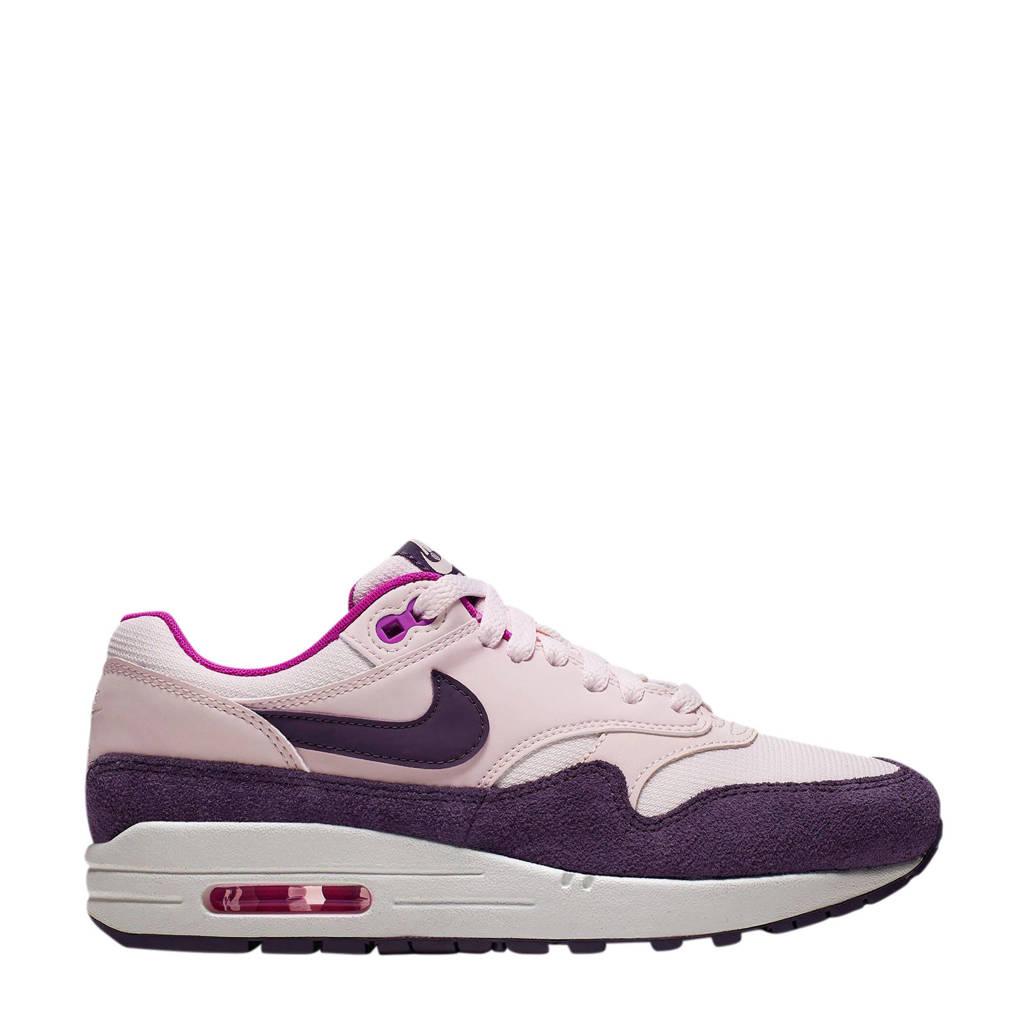 Paarse Kerst Accessoires.Nike Air Max 1 Sneakers Roze Paars Wehkamp
