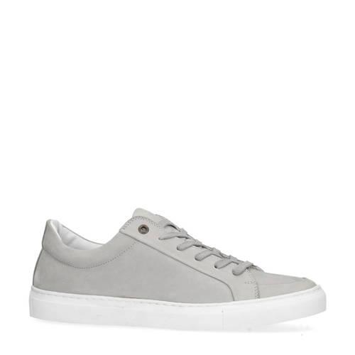 Sacha nubuck sneakers lichtgrijs kopen