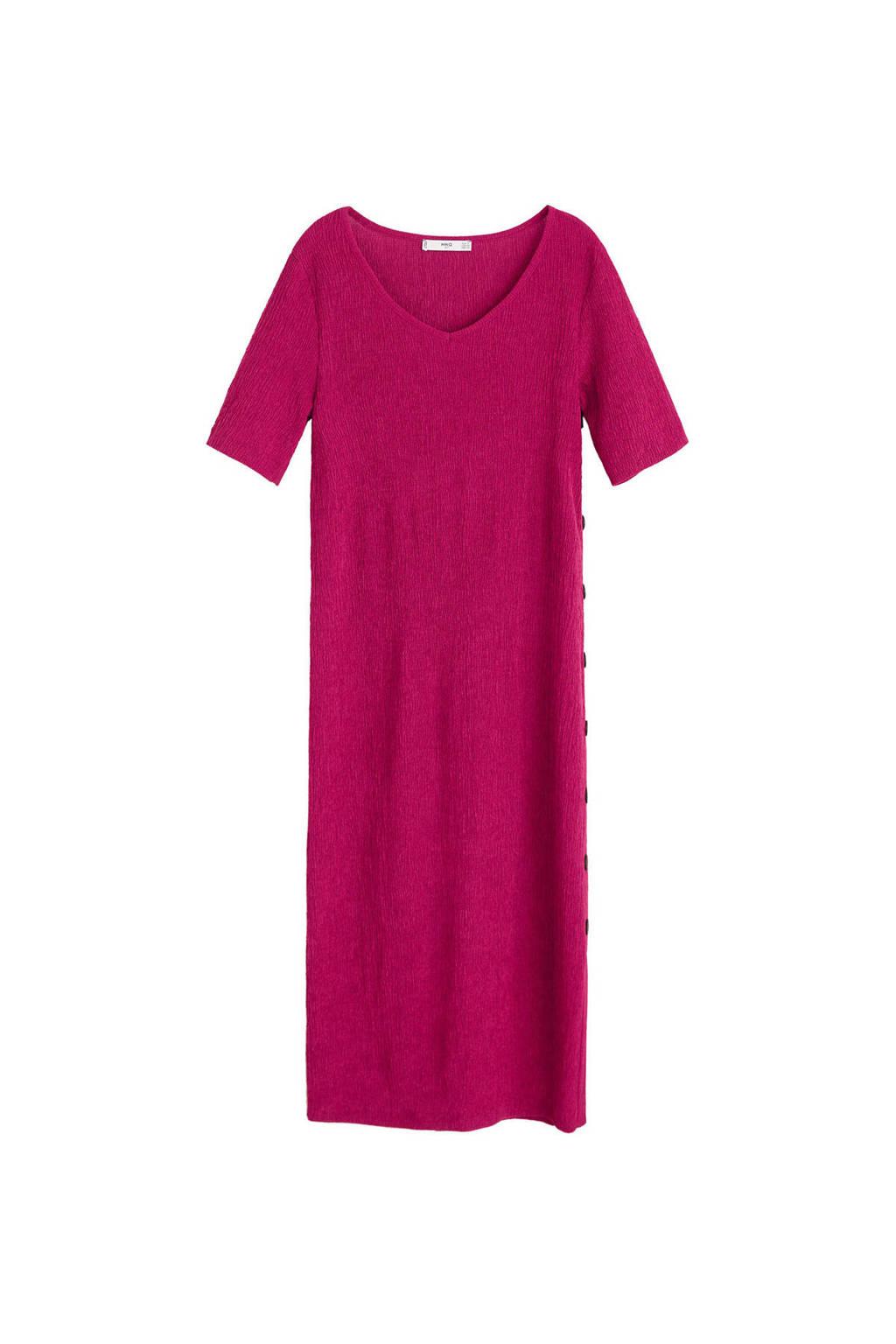 Mango jurk roze, Roze