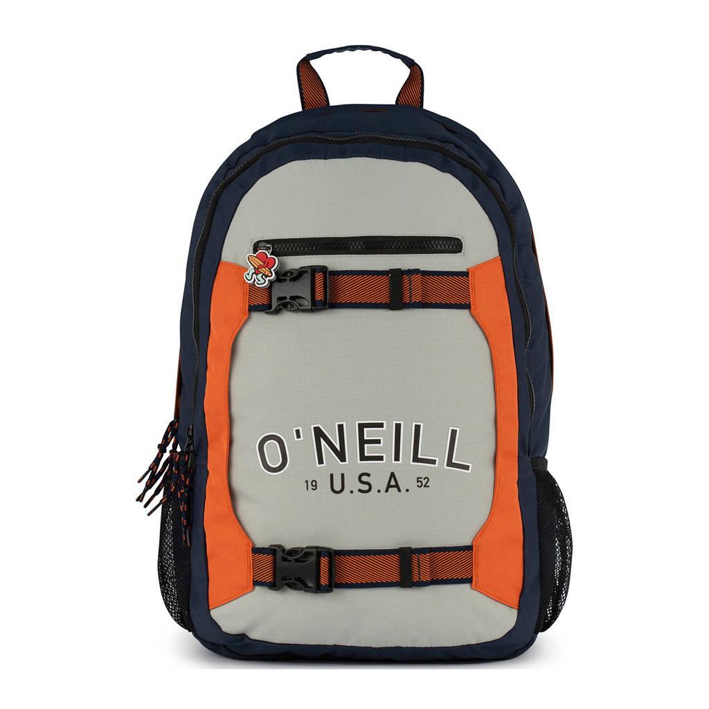 O'Neill rugzak grijs, Grijs/marine