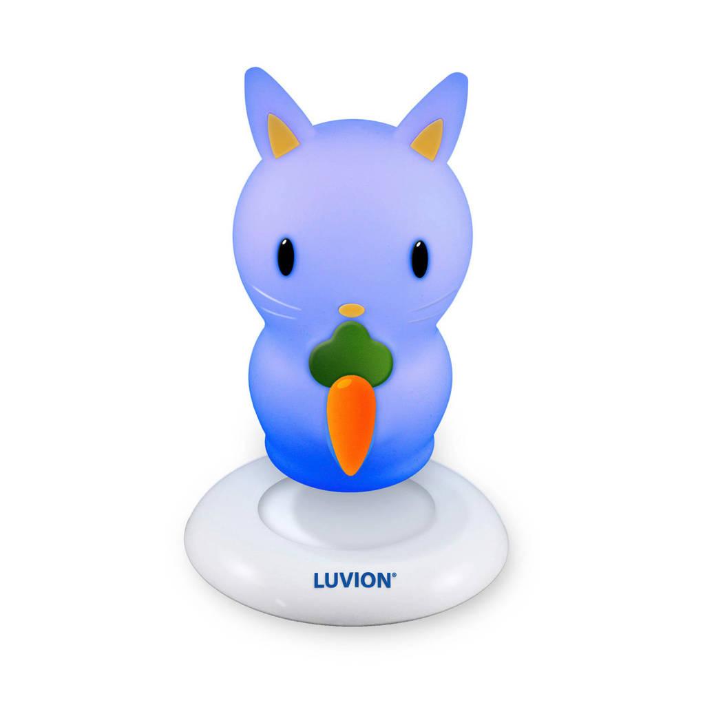 Luvion nachtlampje konijn, Paars