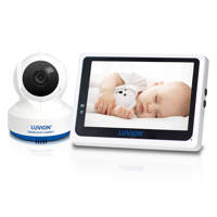 Luvion  Grand Elite 3 Connect babyfoon met camera, Wit/blauw