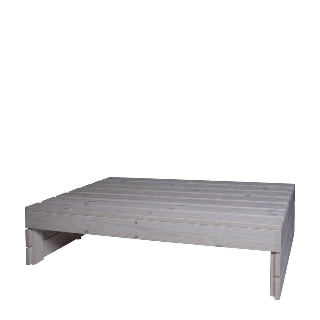 Pro Garden loungetafel 120x80 cm), White wash
