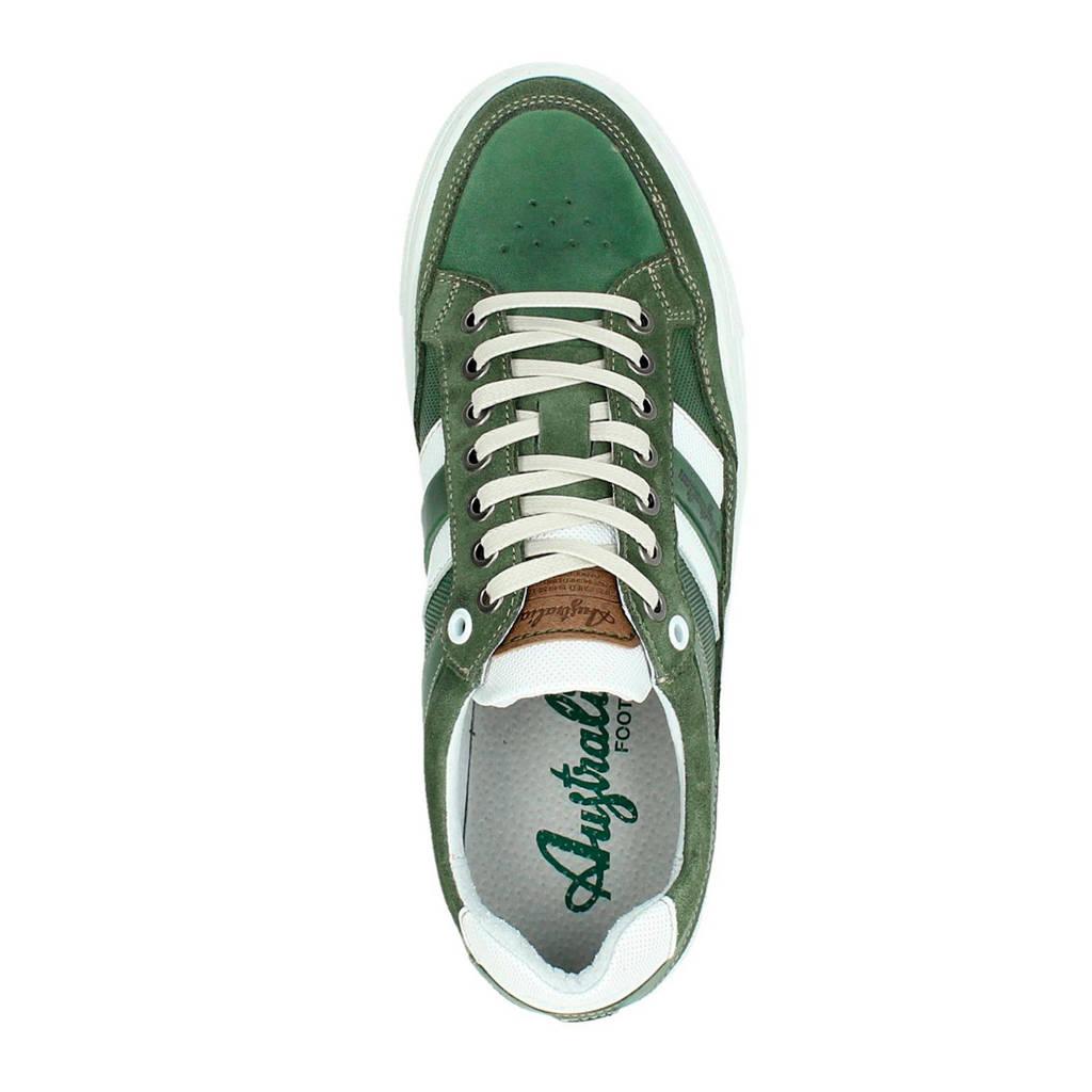 Sneakers Australian Australian Leren Brindisi Brindisi Brindisi Australian Groen Sneakers Groen Leren Leren vZ7qp4Txw