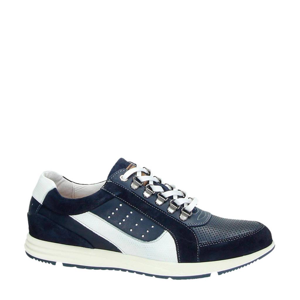 Australian   Gregory leren sneakers donkerblauw, Blauw/wit