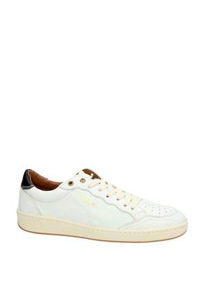Murray01 leren sneakers wit