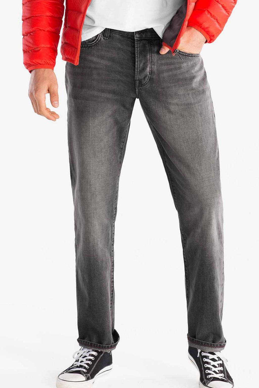 C&A The Denim regular fit jeans donkergrijs, Donkergrijs