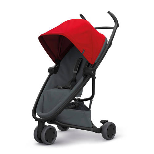 Quinny Zapp Flex buggy Red on Graphite