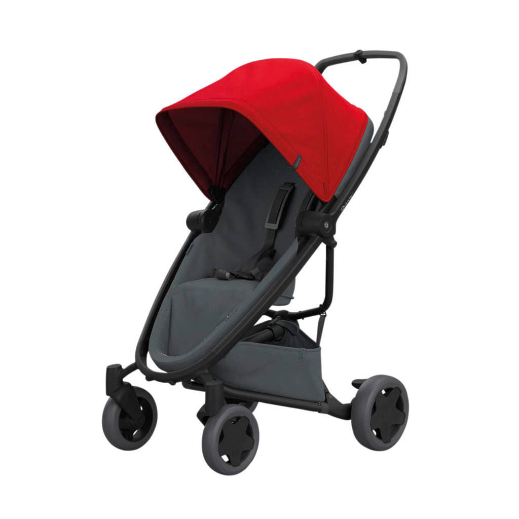 Quinny Zapp Flex Plus buggy Red on Graphite