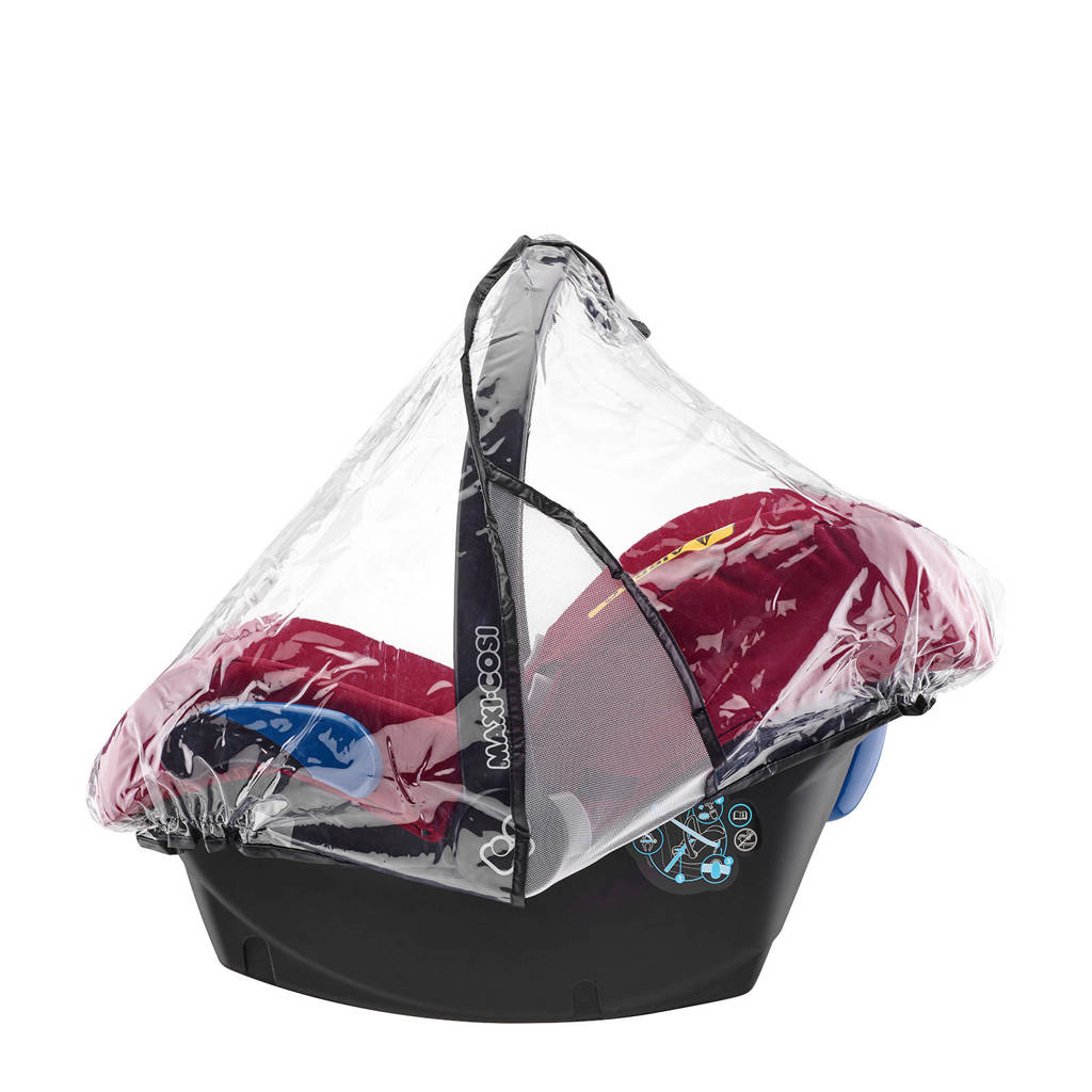 Maxi-Cosi Regenhoes CabrioFix, Transparant
