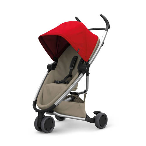 Quinny Zapp Flex buggy Red on Sand