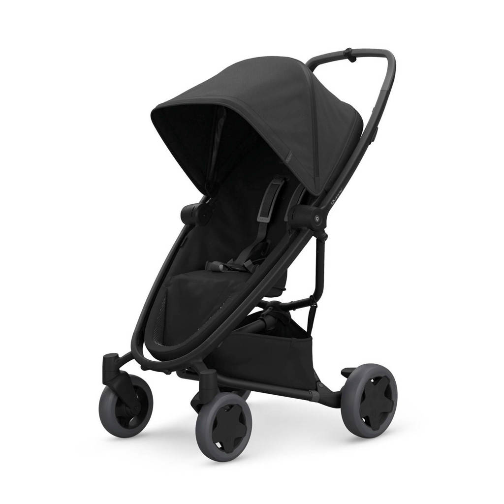 Quinny Zapp Flex Plus buggy Black on Black