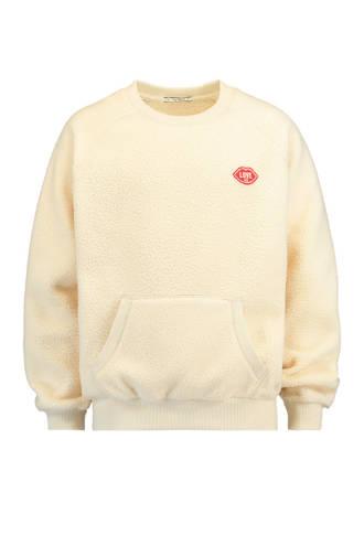teddy sweater ecru