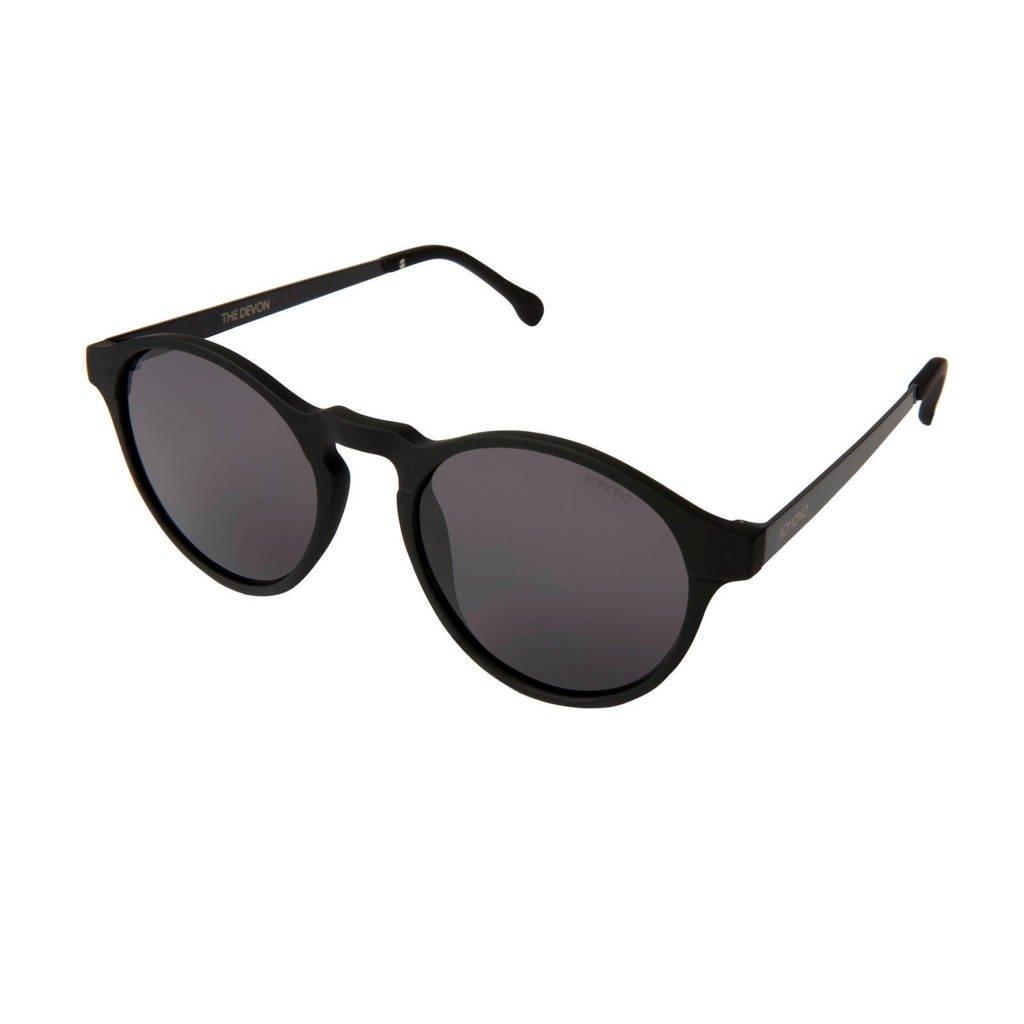 Komono zonnebril Devon zwart