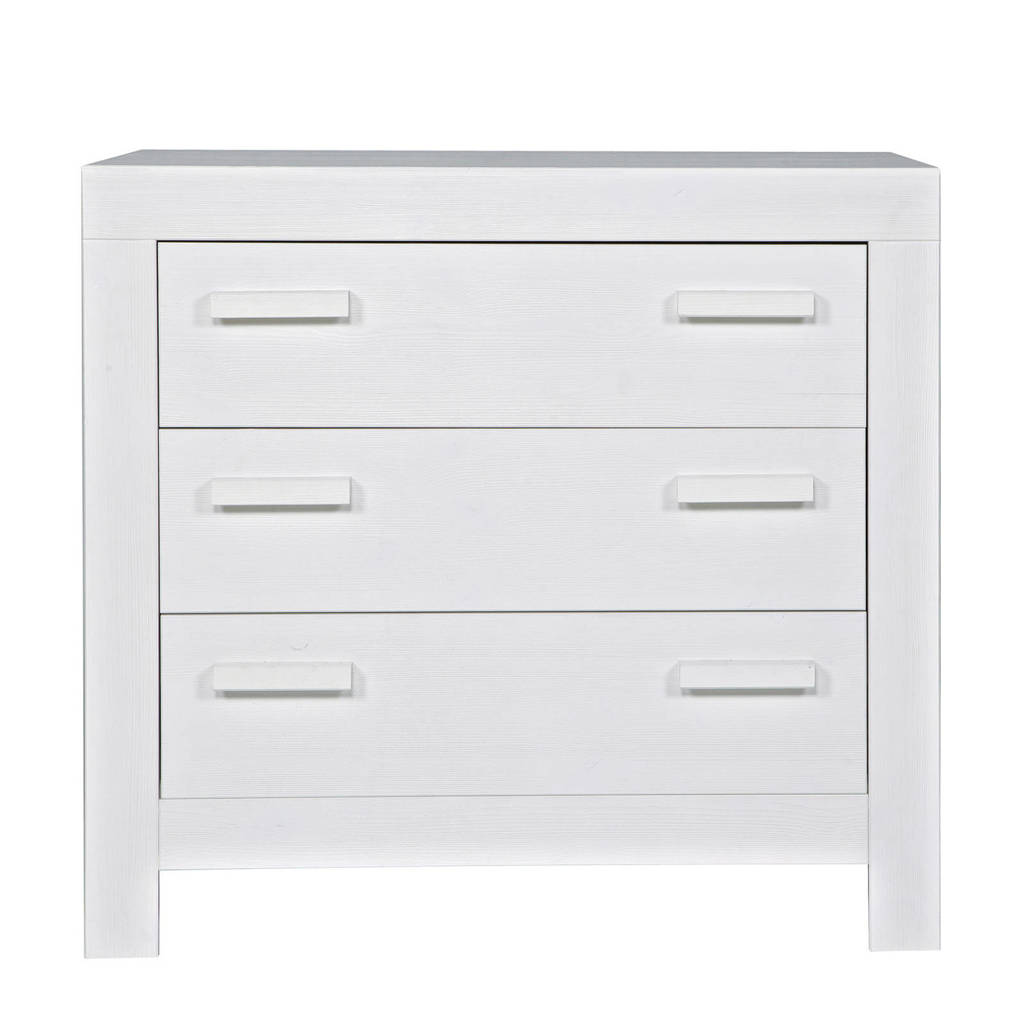 Woood commode New Life white, Wit