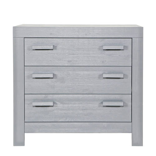 Woood commode New Life concrete grey
