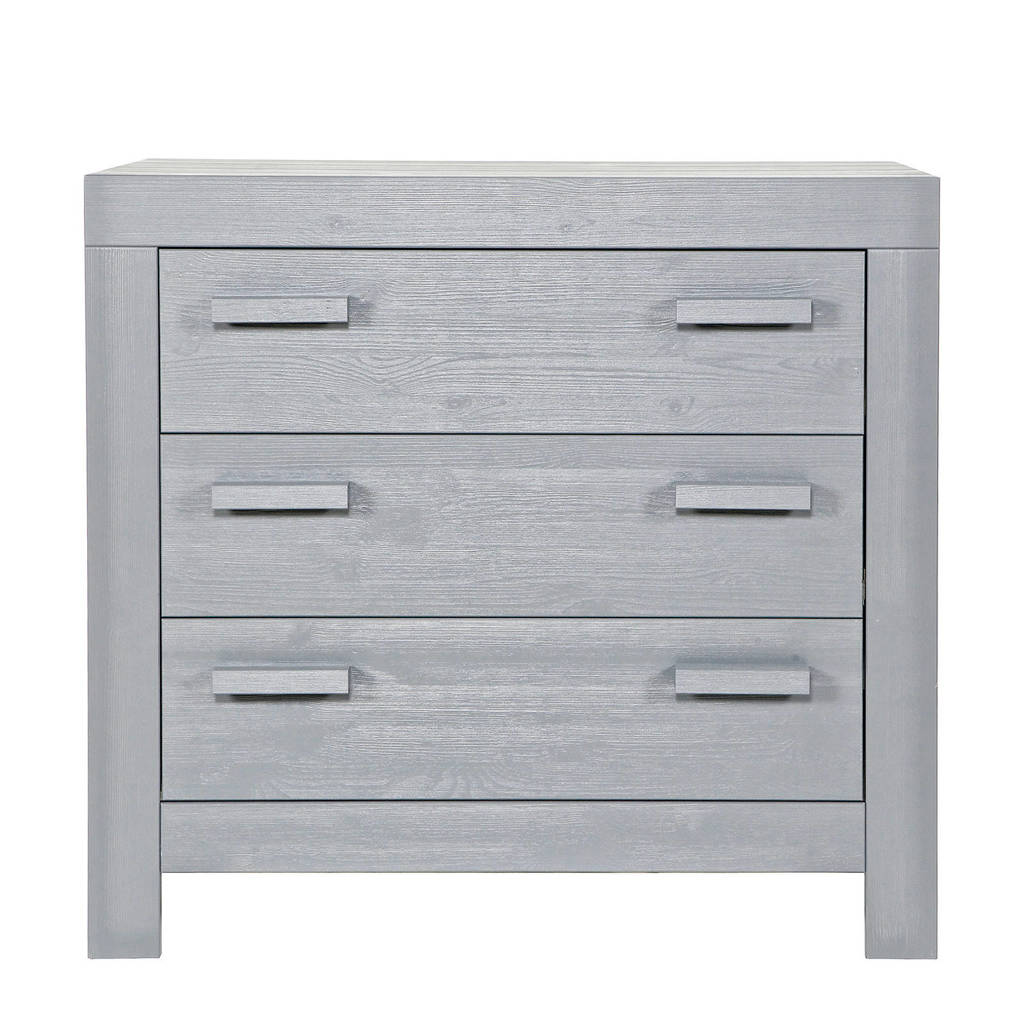 Woood commode New Life concrete grey, Grijs