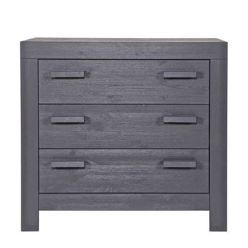 Woood commode New Life steel grey kopen