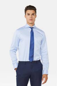 WE Fashion slim fit overhemd lichtblauw, Lichtblauw