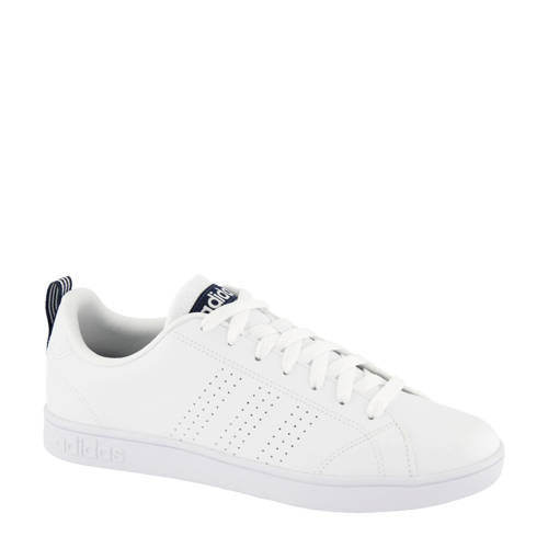 Mens Advantage Clean Vs Sneakers Wit-Blauw Heren White-Blue. Size 42