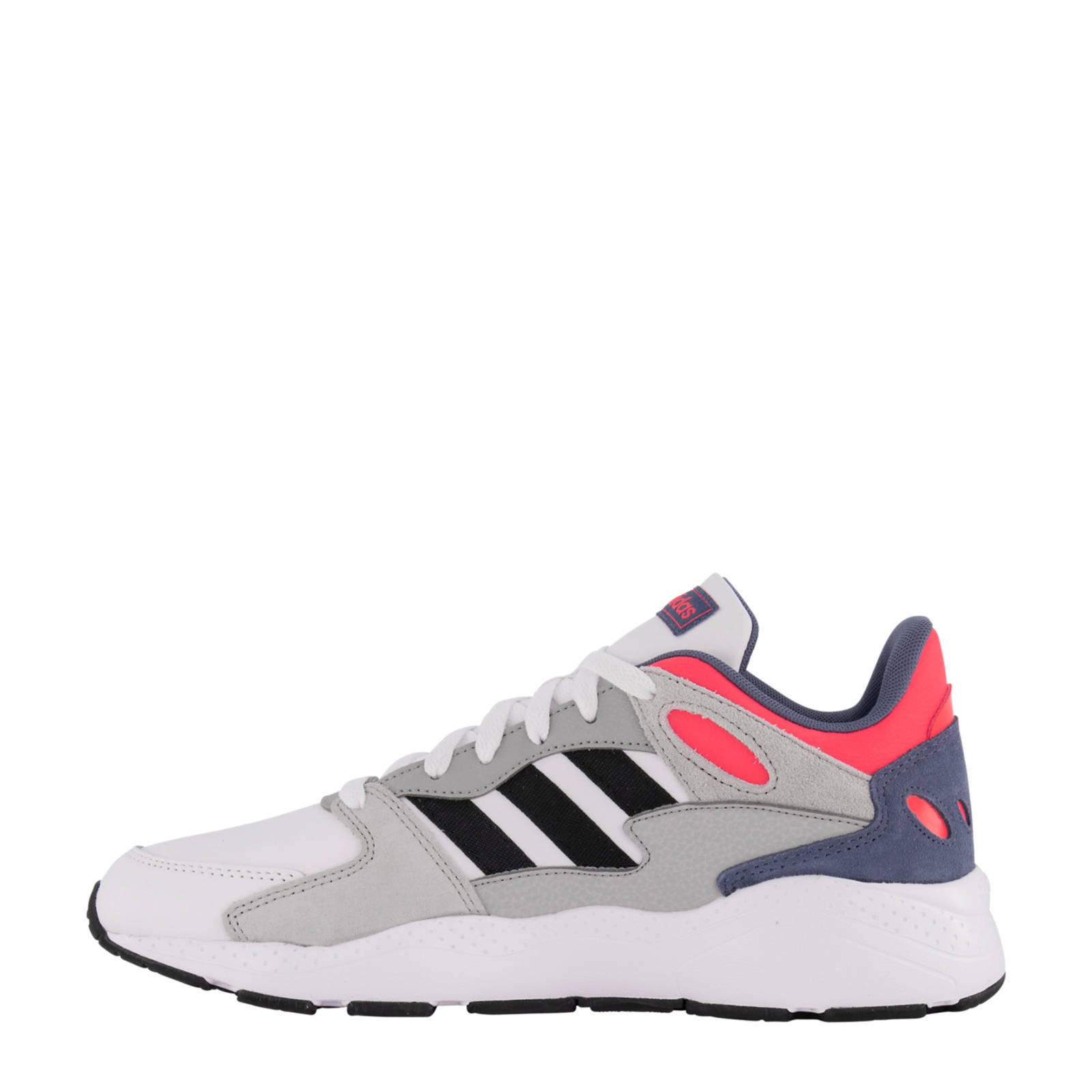 Chaos sneakers grijs/wit/rood