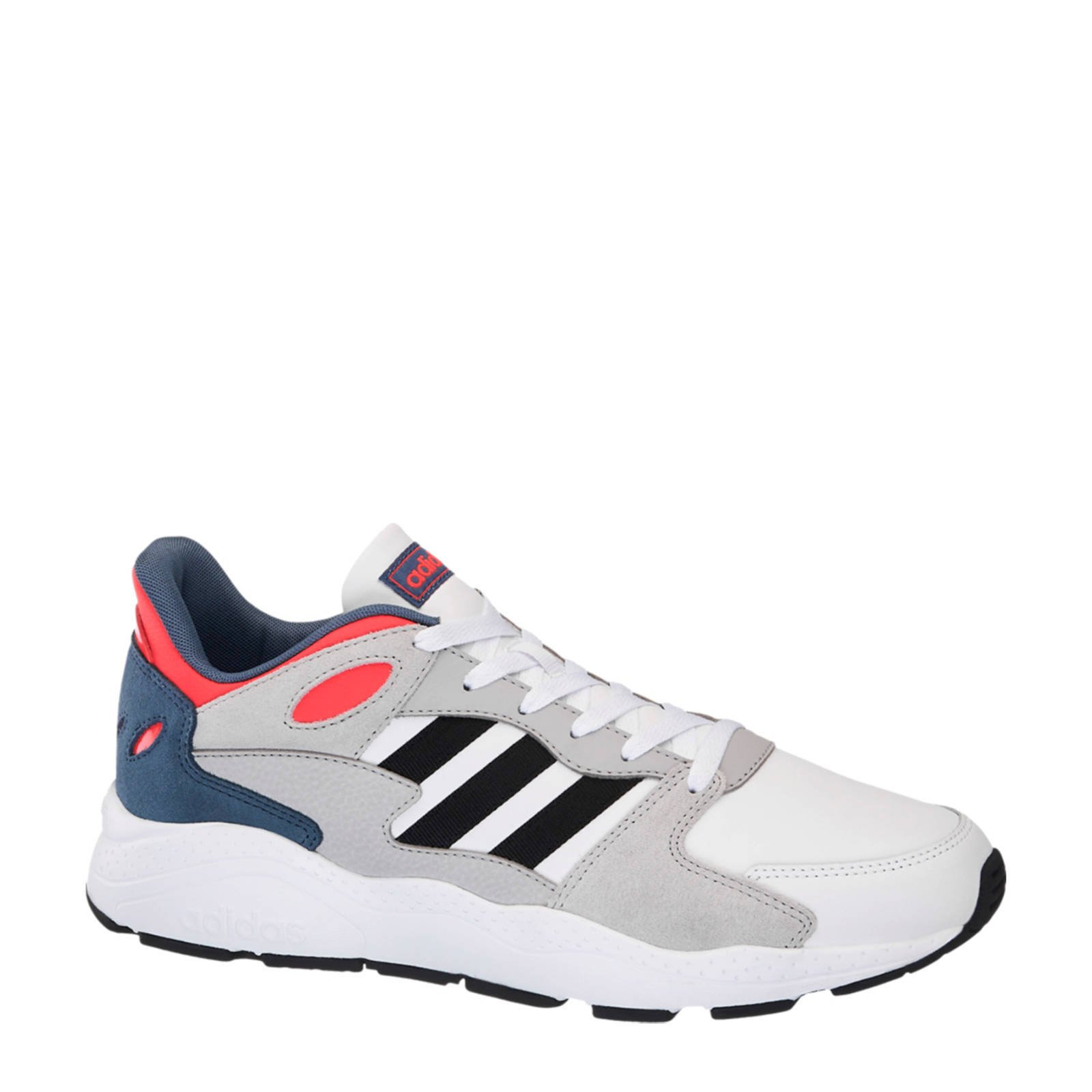 adidas Chaos sneakers grijs/wit/rood | wehkamp