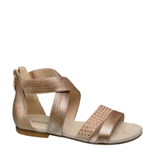Graceland sandalen goud kopen