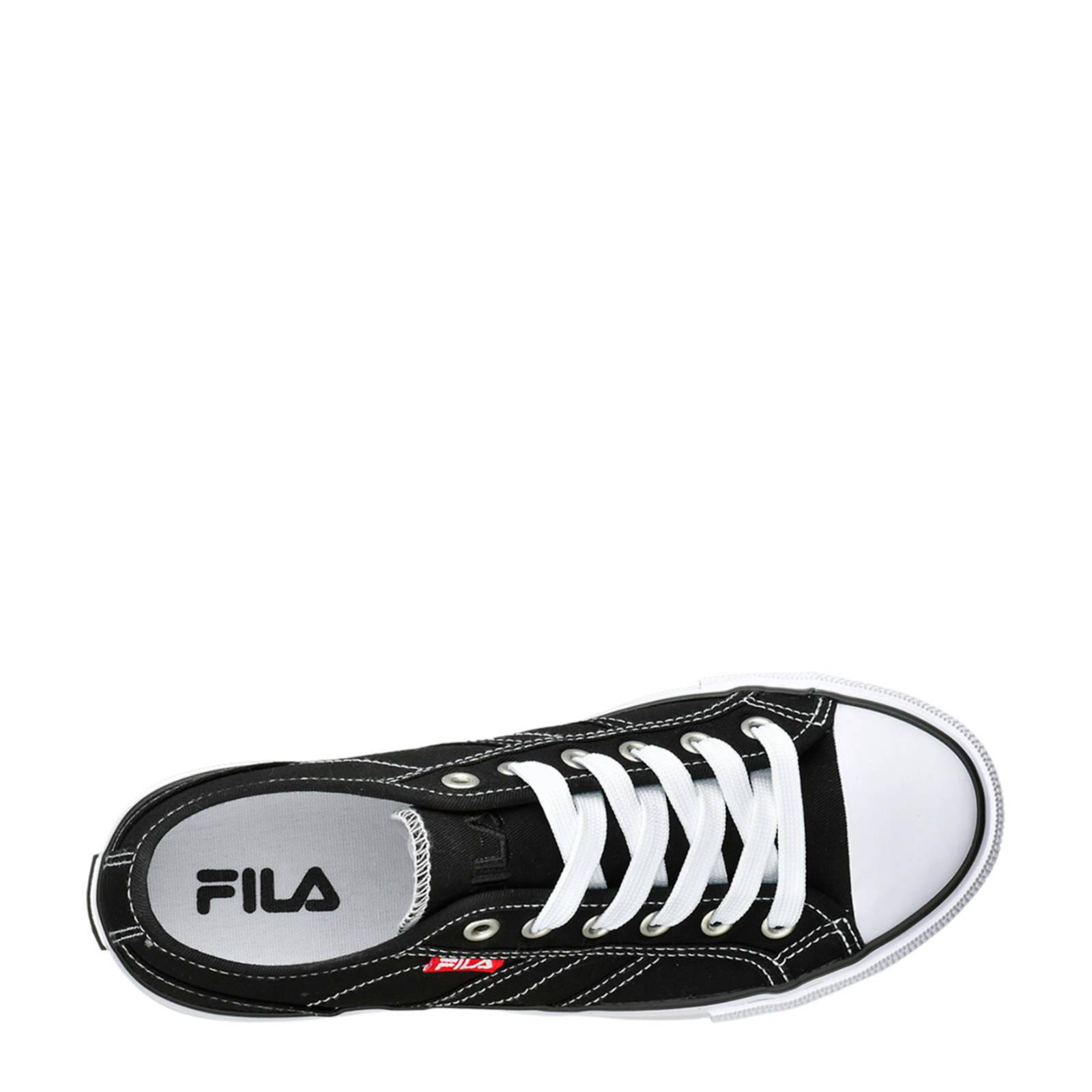 Fila canvas sneakers zwart | wehkamp