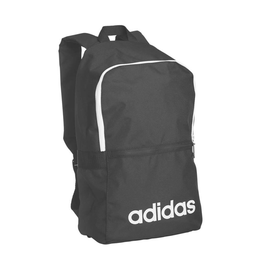 5430ed165aa adidas rugzak zwart, Zwart/wit