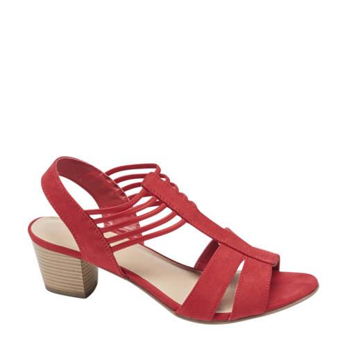 Graceland sandalettes rood