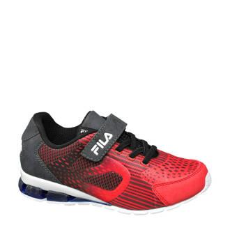 sneakers rood/zwart