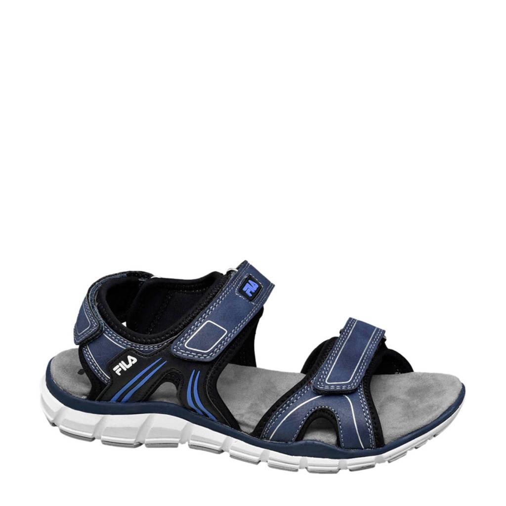 Fila   sandalen donkerblauw, Donkerblauw
