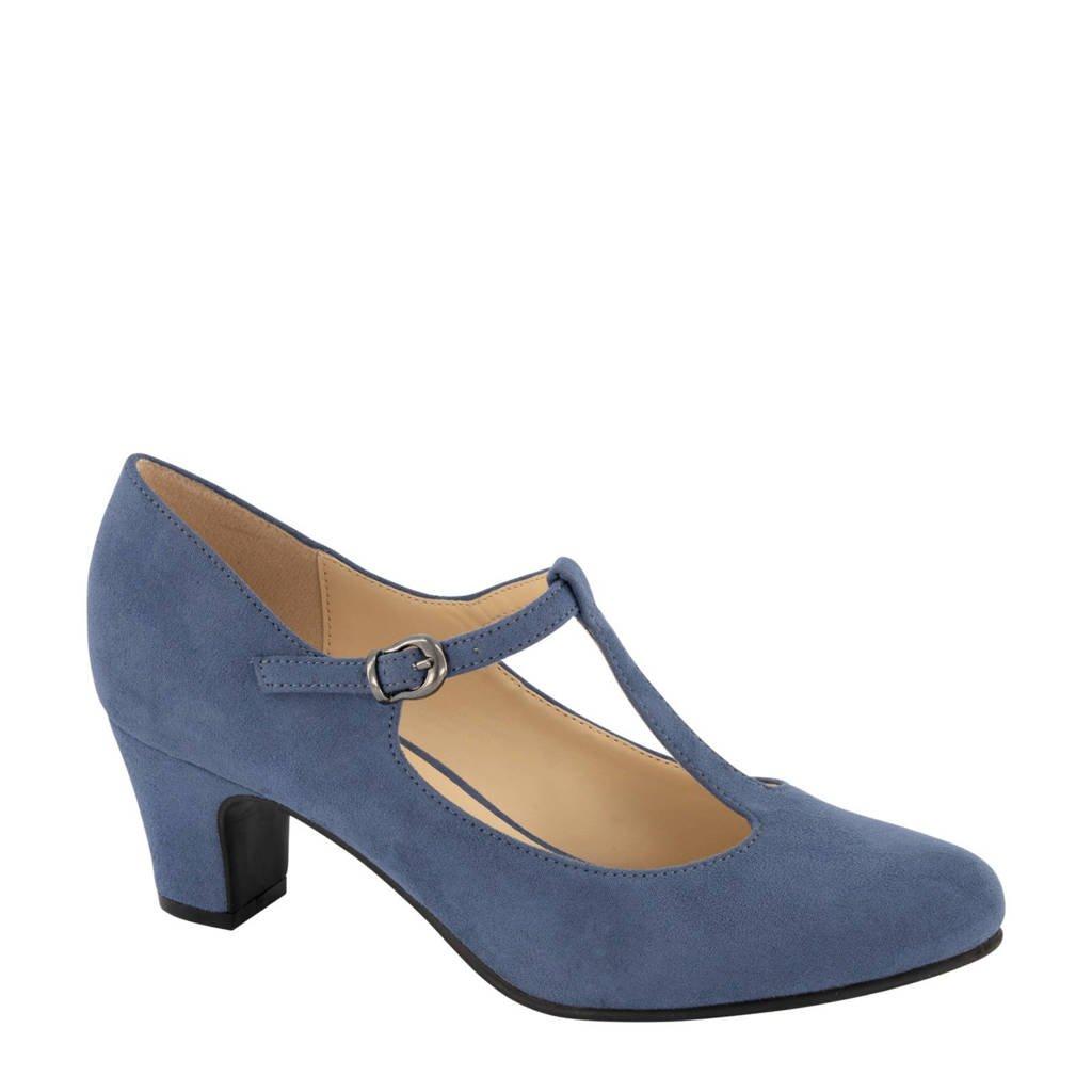 Graceland   pumps blauw, Blauw