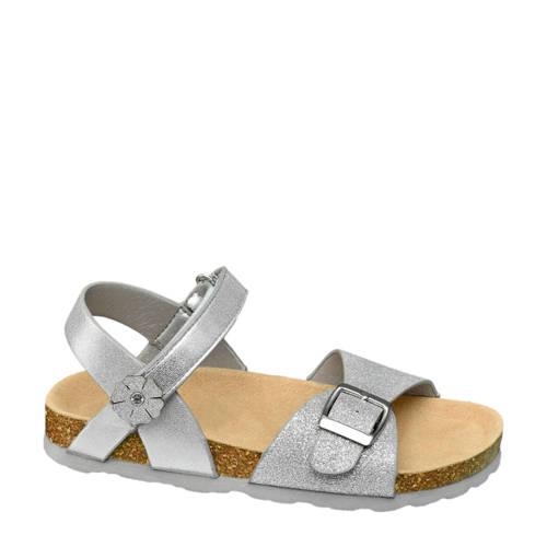 Graceland sandalen met glitters zilver