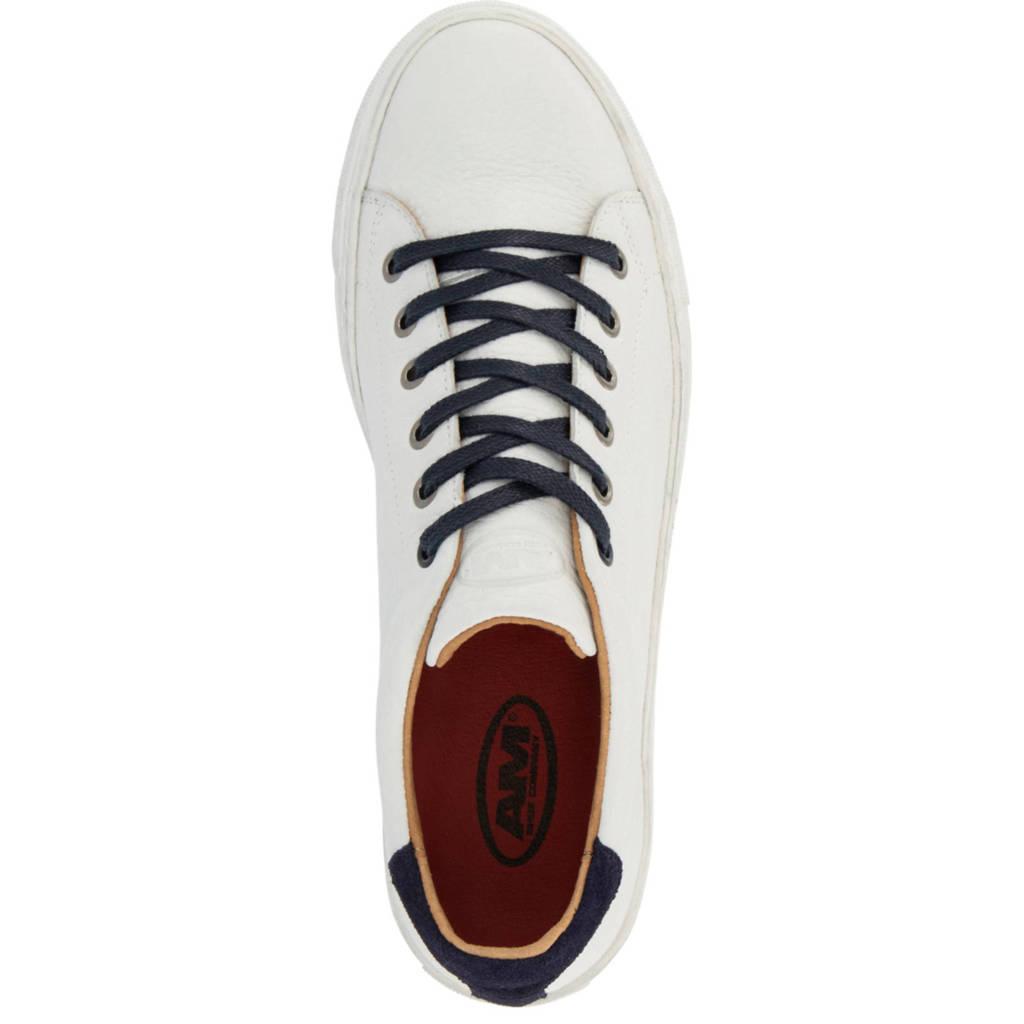 Sneakers Am Am Wit Leren Shoe Leren Wit Sneakers Shoe Shoe Am ftxqYxUz