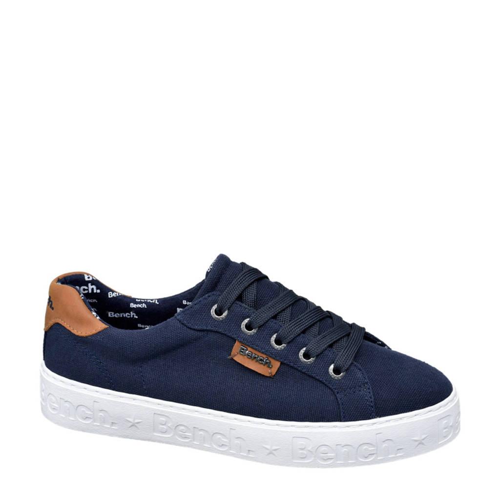 Bench  sneakers donkerblauw, Donkerblauw