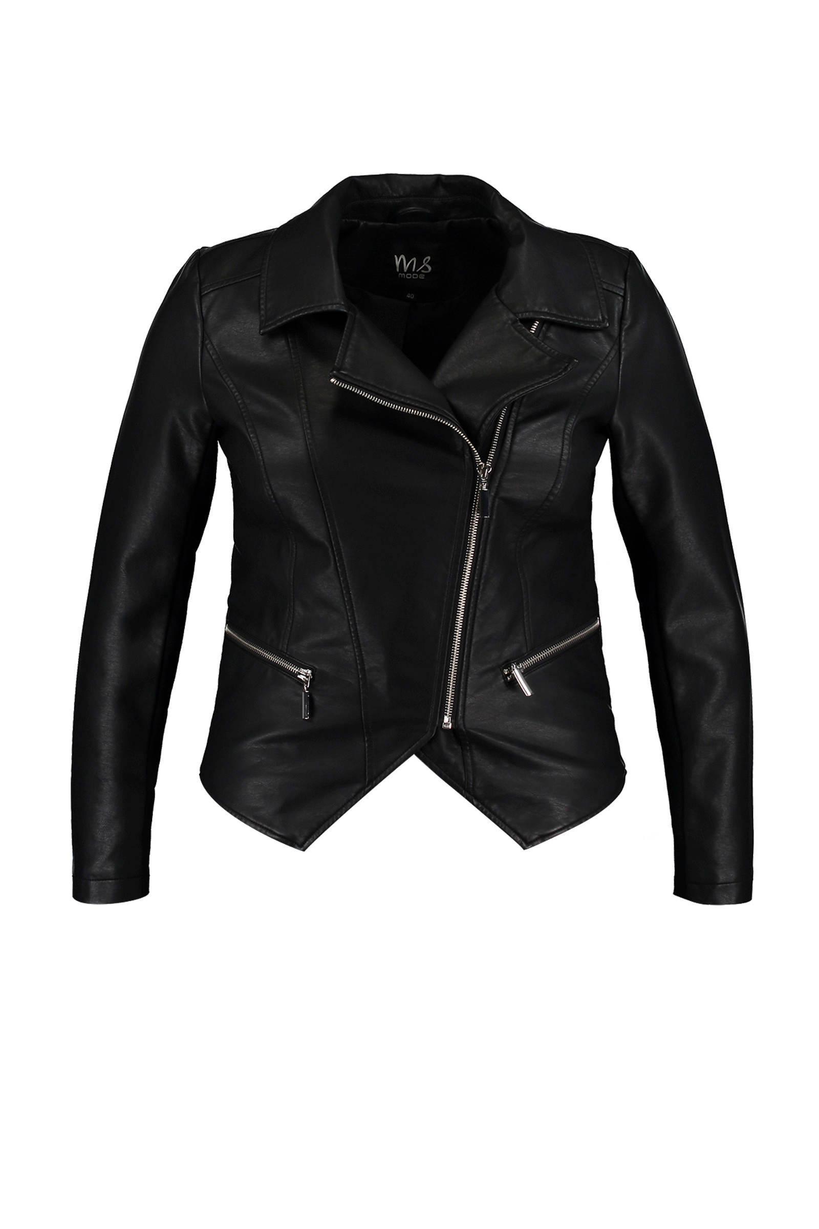 kort zwart jasje dames